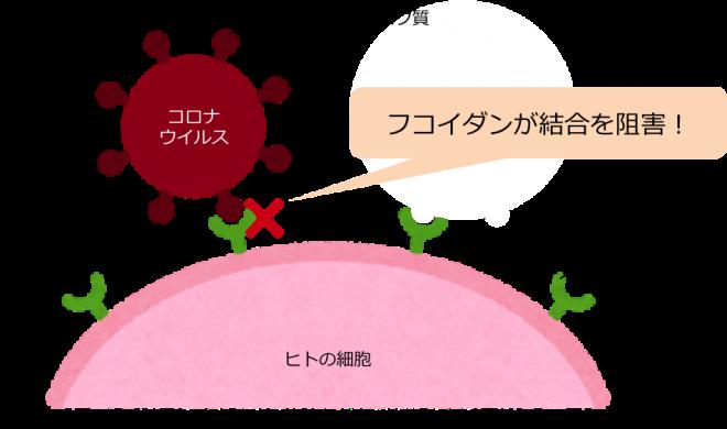 コロナ予防の図