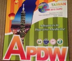 アジア太平洋消化器病ウィークへ参加してきました